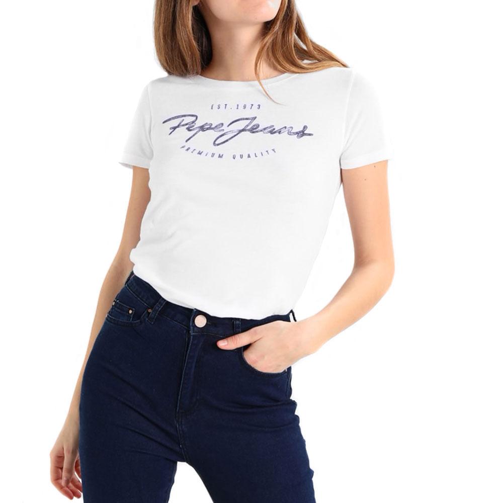 96f683e863 Pepe Jeans Camiseta Charleen Off Blanca - Unity Stores