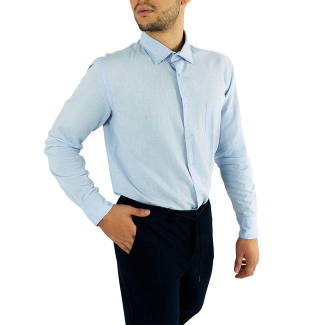 macson-camisa-lino-bolsillo-azul-621916-1