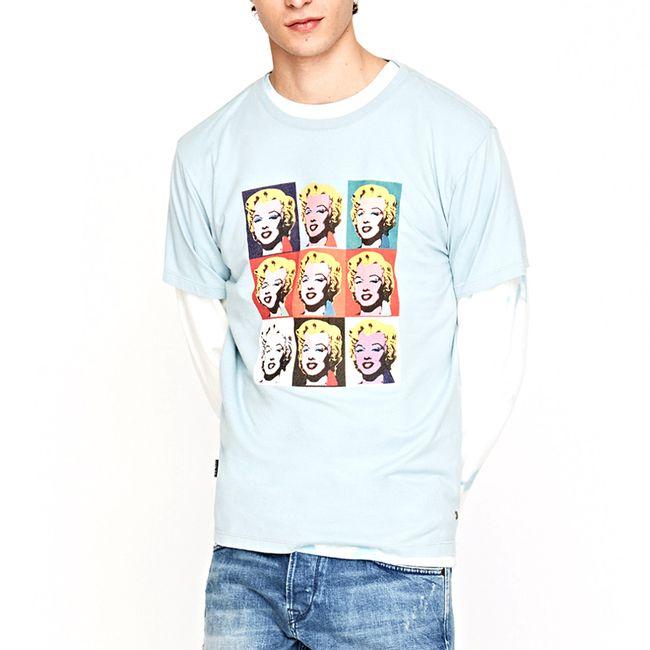 pepe-jeans-camiseta-cuadricula-azul-palido-AM500405506