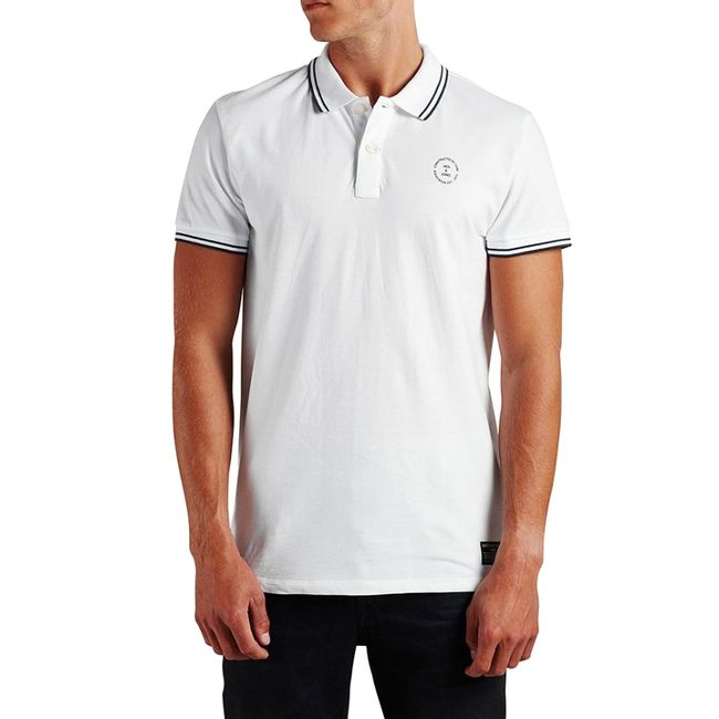 jack-Jones-polo-camiseta-blanca-12092286