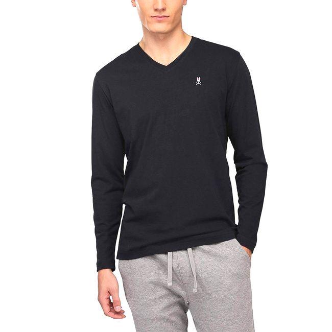 psycho-bunny-camiseta-l-s-hombre-negro-B6T421ARPC-BLK