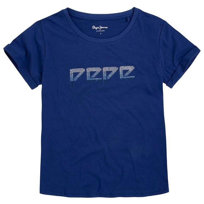 pepe-jeans-camiseta-maggie-azul-pl504080