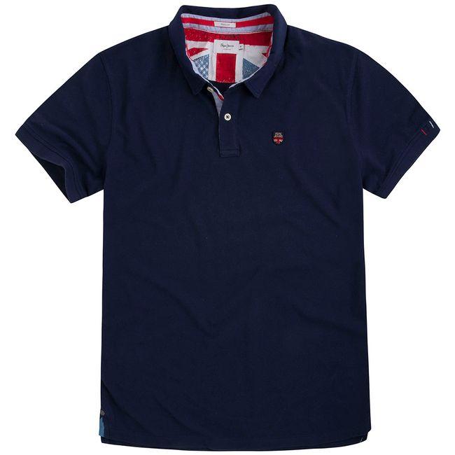 pepe-jeans-camiseta-azul-polo-pm541208