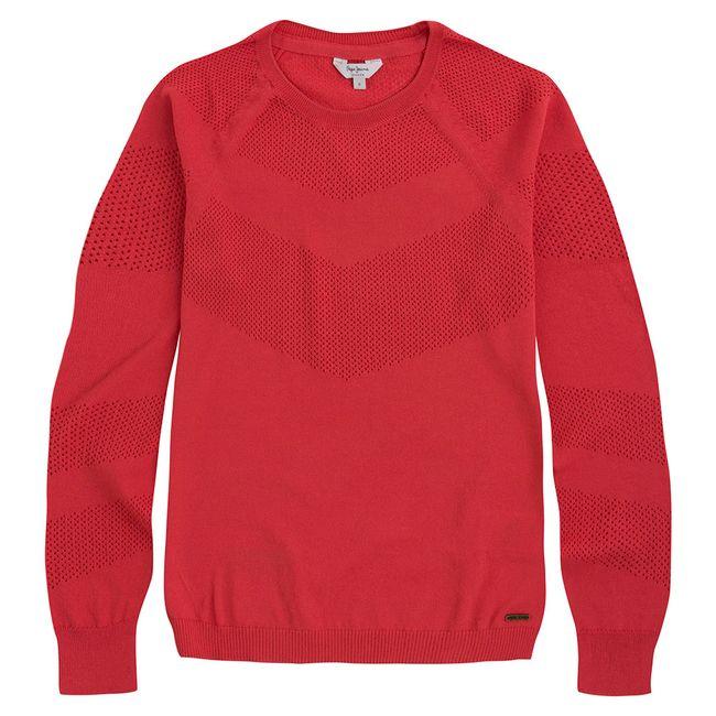 pepe-jeans-jersey-lulu-rojo-pl701459