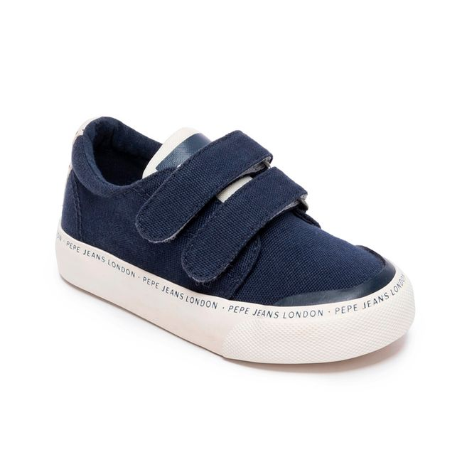 SNEAKERS-TRAVELLER-BASIC-KIDS-NAVY