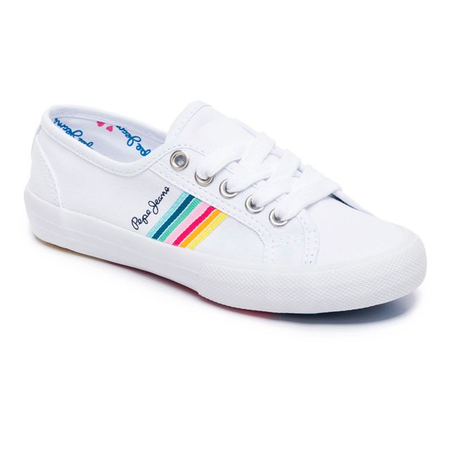 SNEAKERS-BAKER-TAPE-WHITE