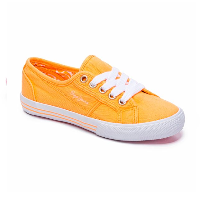 SNEAKERS-BAKER-CANVAS-RUGBY-YELLOW