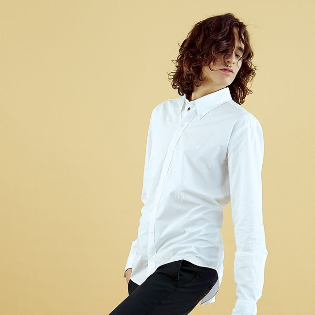 macson-camisa-lisa-botones-blanca