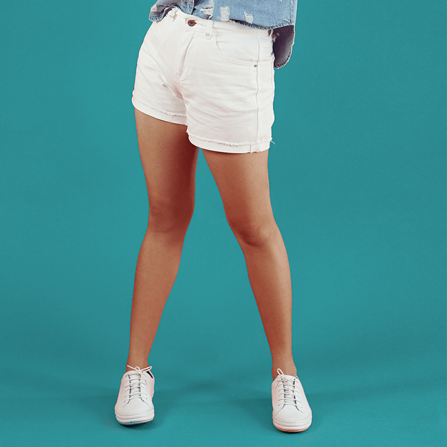 Vero-Moda-Shorts-Nineteen-Loose-Snow-White