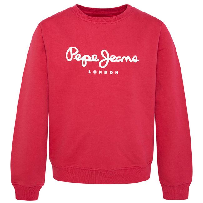 PEPE-JEANS-SWEATSHIRT-SCOTT-FRANCOIS-RED