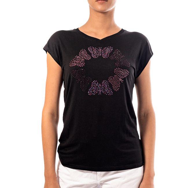 desigual-camiseta-coral-negra-17WWTK60-1
