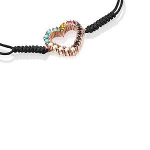 tous-pulsera-corazon-de-plata-vermeil-rosa-gemas-y-cordon-negro-915301510-2