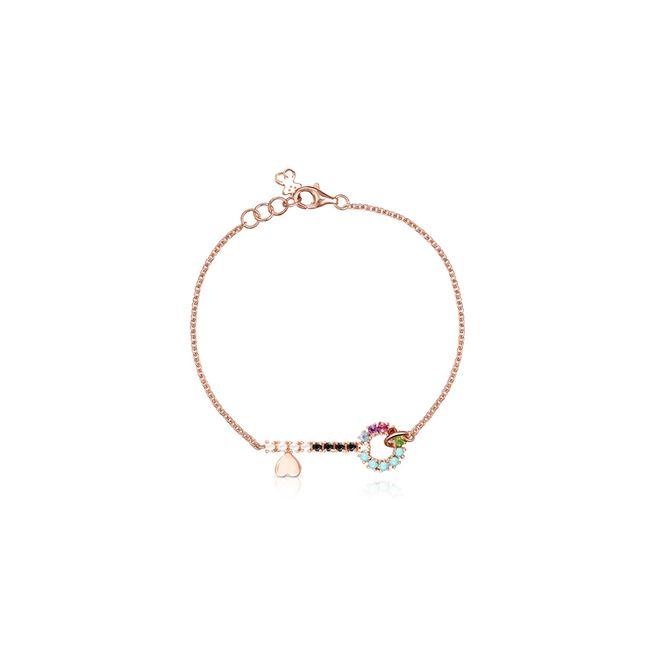 tous-pulsera-llave-de-plata-vermeil-rosa-y-gemas-915301530-1