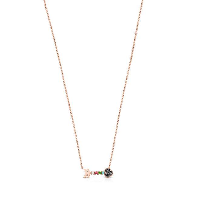 tous-collar-flecha-de-plata-vermeil-rosa-y-gemas-915302500-1