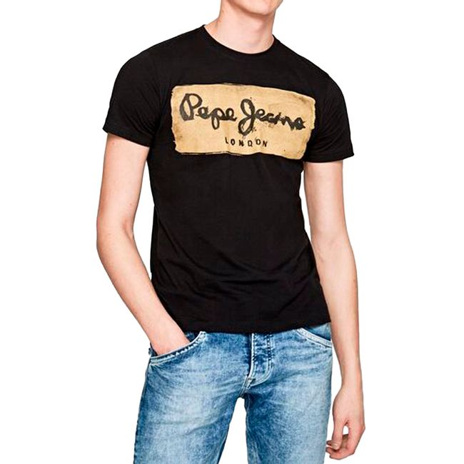 pepe-jeans-T-shirt-charing-black-pm503215999-1