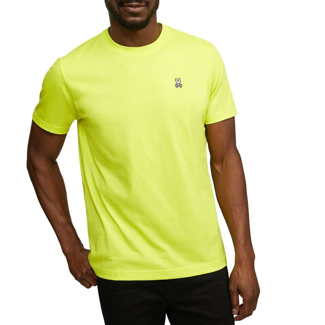 psycho-bunny-camiseta-cuello-redondo-amarillo-neon-B6U014J1PC-LLT-1