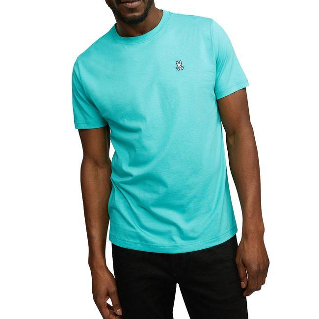psycho-bunny-camiseta-cuello-redondo-turquesa-B6U014J1PC-CER-1
