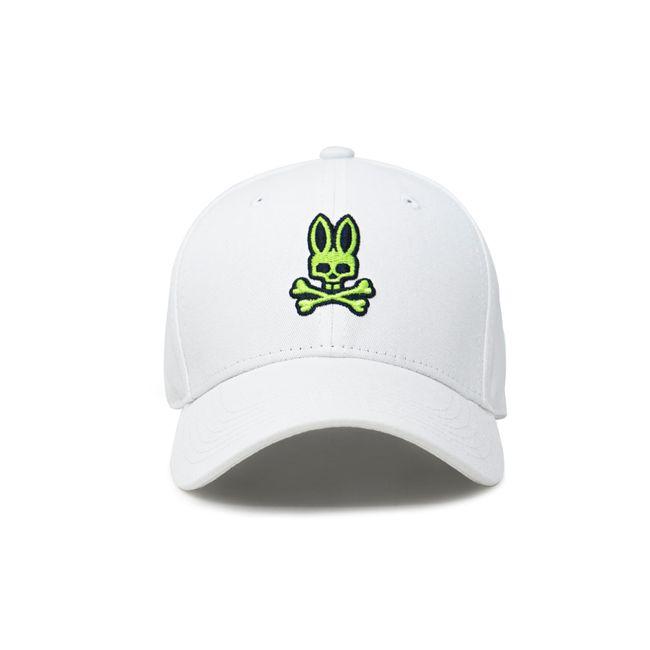 psycho-bunny-gorra-neon-bunny-curbed-brim-blanca-B6A887A1HT-WHT-1