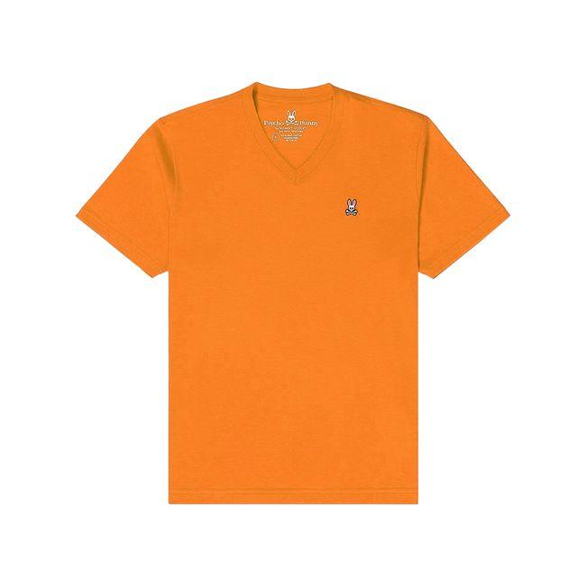 psycho-bunny-camiseta-cuello-v-naranja-B6U100J1PC-BZE-1