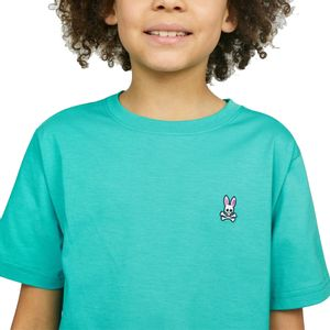 psycho-bunny-camiseta-cuello-redondo-turquesa-B0U014J1PC-CER-2