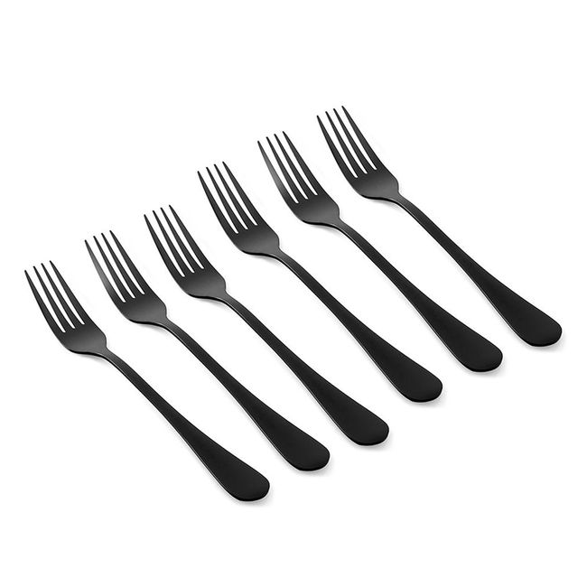 italica-set-de-6-tenedores-de-mesa-acero-negro-satinado-IT-KA6105-1
