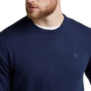 hackett-jersey-de-algodon-y-seda-azul-marino-hm702468595-3