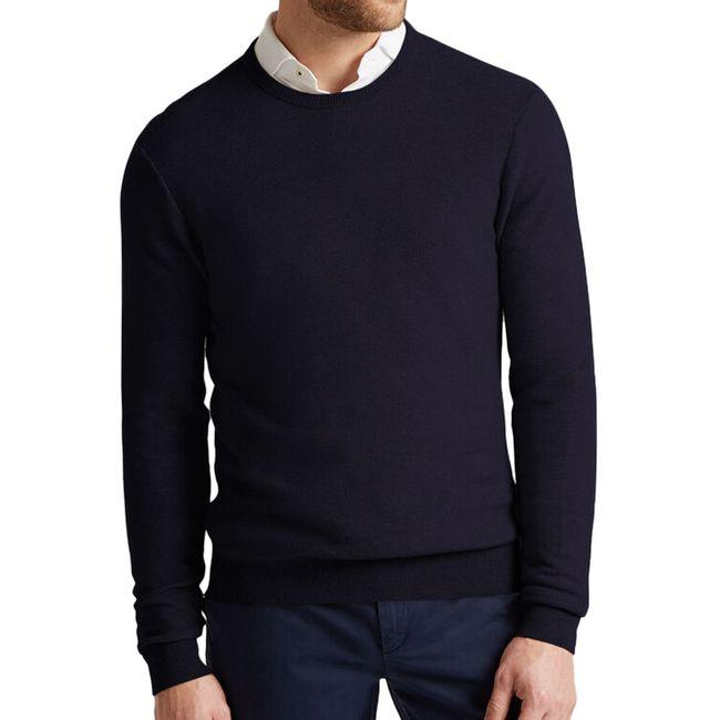 hackett-jersey-de-pique-en-algodon-y-cashmere-azul-marino-hm702482595-1
