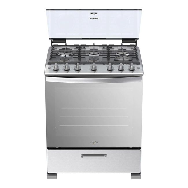 whirlpool-cocina-a-gas-silver-30--LWFR5100S-1