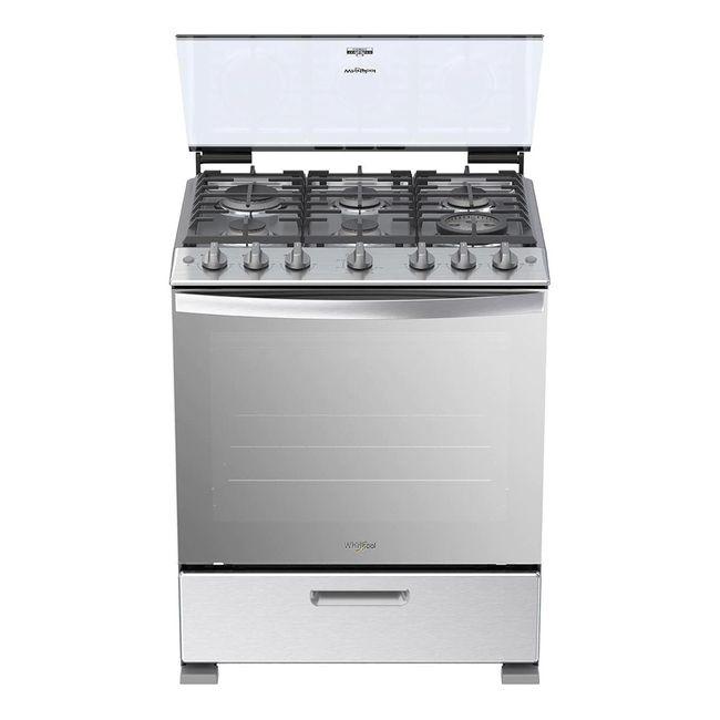 whirlpool-cocina-a-gas-silver-30--LWFR5100S-1