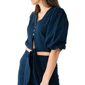 malala-blusa-de-lino-azul-manga-LM0606-2