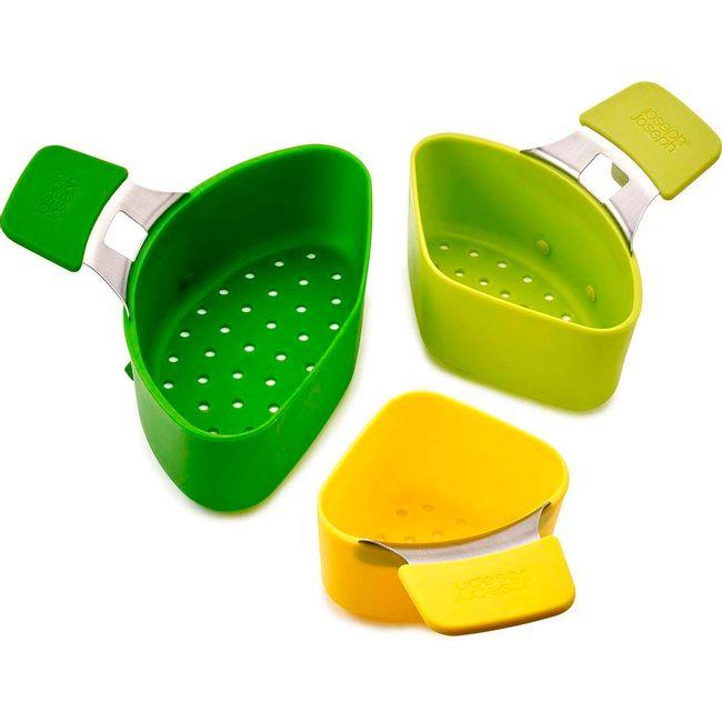 set-de-3-cestas-acero-silicona-verde-40083-1